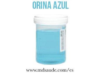 orina-azul