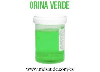 orina-verde